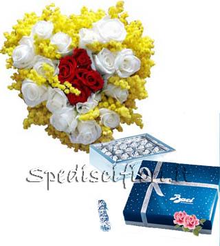 cuore-di-mimose-e-rose-con-baci