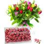 bouquet-di-tulipani-colorati-con-ovetti-lindor