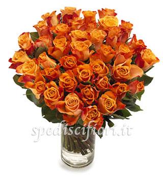 bouquet-di-50-rose-arancio