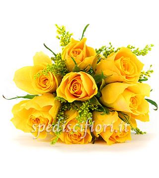 composizione-di-8-rose-gialle