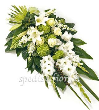 composizione-funebre-di-gladioli-gigli-e-rose-bianche