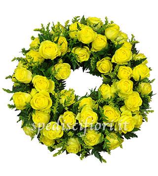 corona-funebre-di-rose-gialle