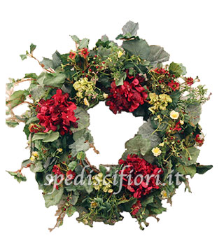 ghirlanda-natalizia-con-ortensie
