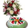 bouquet-di-roselline-con-cassata-siciliana