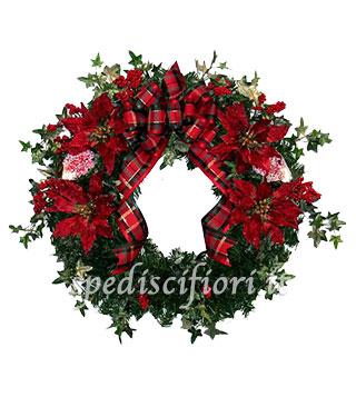ghirlanda-natalizia-con-stelle-di-natale
