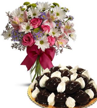 profiterole–con-bouquet-beautiful