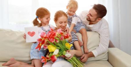 fiori che simboleggiano la famiglia
